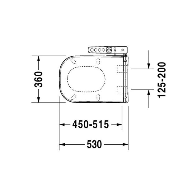 Недорого Унитаз DURAVIT D-CODE 214209 с крышкой-биде  DURAVIT SENSO WASH D-CODE 610100